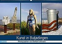 Kunst in Butjadingen 2022 (Wandkalender 2022 DIN A2 quer): Skulpturale Kunstwerke in Butjadingen an der Nordseekueste. (Monatskalender, 14 Seiten )