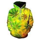 x8jdieu3 Herbst und Winter Blätter Digitaldruck Hoodie 3D Pullover warme Mode Jersey Shirt Jacke