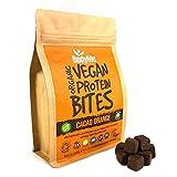 BodyMe Morsi Spuntini Proteici Vegane Biologiche | Crudo Cacao Arancia | 500g | 100 Morsi | Con 3 Proteines...