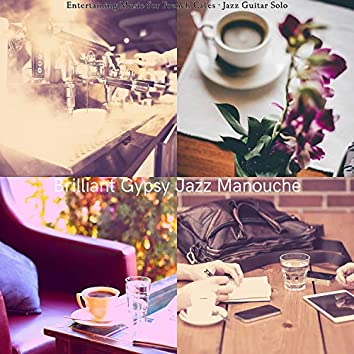 Entertaining Music for French Cafes - Jazz Guitar Solo