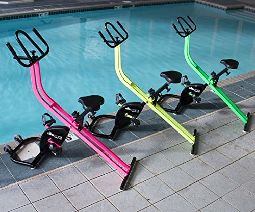 Aqua Creek Products Tidalwave Water Exercise Bike, Pool Bike, Under Water Spin Cycling, Tidal Wave, Aquatic Fitness (Pink)
