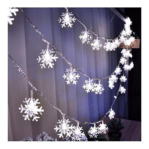 Lwmnbhd. 10/20 luces de clip para fotos, funciona con pilas, guirnalda de luces LED, decoración para fiestas de baño, decoración para fiestas de baño (color: blanco nieve, tamaño: 1 m, 10 ledes)