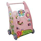 Andador de madera con actividades Magic Garden de FantasyFieldsTD11639A