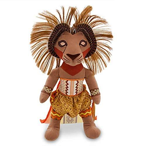 JMHomeDecor Juguetes De Peluche The Lion King Broadway Musical De Peluche De Juguete Muñeca Animales De Peluche 30Cm 12 '' Juguetes para Niños Regalos para Niños