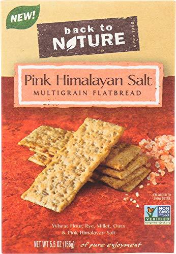 StarSun Depot (NOT A CASE) Pink Himalayan Salt Multigrain Flatbread Cracker