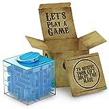 AGREATLIFE Geldgeschenke Verpackung - Magische Rätselbox - Money Maze Spardose Geldlabyrinth - Originelles Geldgeschenk - Give Aways für Kinder - Die sicherste Spardose der Welt!