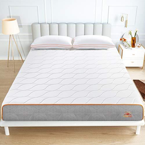 Maxzzz Materasso Singolo con Design Ventilato da 20 cm, 90x190cm, Materasso in Memory Foam con Gel e...