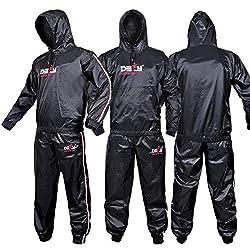 top 10 sauna suit brand DEFY Heavy Duty Truck Suit Sauna Truck Suit Fitness, Weight Loss, Anti-Lip, Hood (2XL)