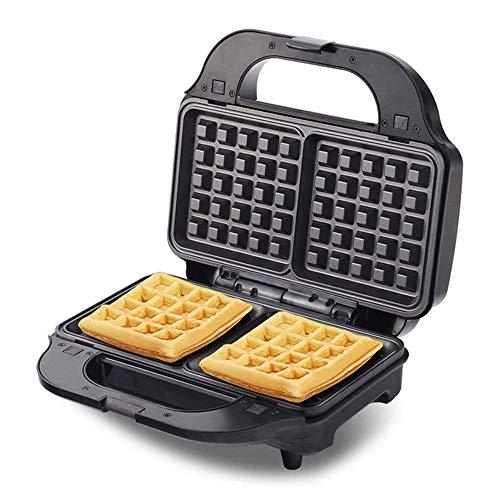 Huishoudelijke Waffle Machine, 2 Slice Grote Style wafelijzer, dubbelzijdig constante temperatuur Baking Technology, Anti-aanbaklaag, geschikt for wafels en andere snacks