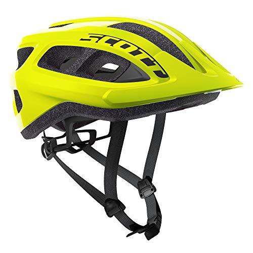 Scott Supra 2021 - Casco para bicicleta de montaña (54-61 cm), color amarillo