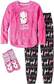 INTERESTPRINT Kids Funny Hello Spring Llama Alpaca with Floral Comfortable Breathable Briefs 5T-2XL