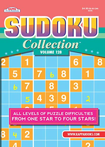 Compare Textbook Prices for Sudoku Collection Puzzle Book-Volume 128  ISBN 9781559930789 by Kappa Books Publishers