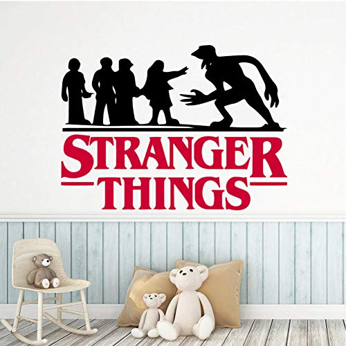 Adhesivo de pared Stranger Things, papel tapiz de vinilo