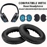 Oreillette Bose AE2/AE2W/QC25 Coussinets de Remplacement, WADEO Coussin d'oreille en...