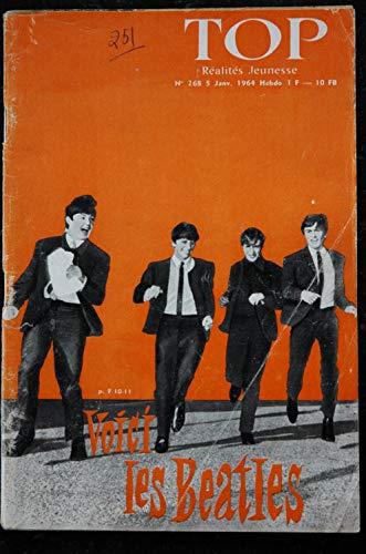 TOP Réalités Jeunesse 268 - 1964 01 Les BEATLES - Le Flirt - Françoise Hardy - Georges Mauduit