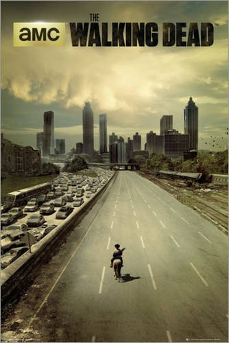 Póster The Walking Dead - city - cartel económico, póster XXL