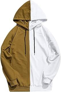 Men's Casual Hoodie Shirt Slim Fit Long Sleeve Lightweight Tops