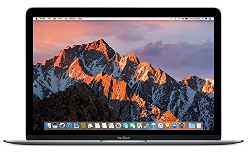 "Apple MNYF2LL/A 12"" MacBook Laptop - Space Gray (Retina Display, 1.2GHz Intel Core m3 Dual Core Processor, 8GB RAM, 256GB, Intel HD Graphics, Mac OS (2017 Newest Version) (Renewed)"
