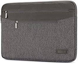 LONMEN Water Resistant 12.5-13 Inch Laptop Sleeve Bag Case for 13