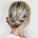Accesorio para el pelo de Aukmla, con cristales Swarovski, para novia y dama de honor