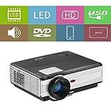 4000 lumens HD 1080p projecteur LED Home cinéma HDMI,1280x800 résolution Native...