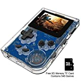 BAORUITENG Handheld Games Consoles , Retro TV Game Console Video Game Console Player 2.0 Inch Game Console with 548 GBA System Classic Games for Kids Gift (White)