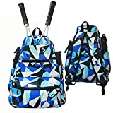 Bingsun Tennis Backpack Tennis Bags to Hold Tennis Racket for Men and Women,Pickleball Bag,Tennis Racket Holder,Tennis Racquet Bag,Badminton Racquet, Squash Racquet