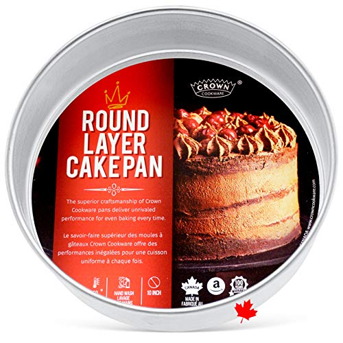 10 inch Round by 2 inch Deep, Aluminum Baking Pan