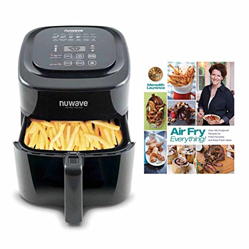 Nuwave 6 qt Brio Air Fryer Black with