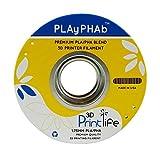 3D Printlife PLAyPHAb 1,75mm Schokolade PLA/PHA Mischung 3D-Drucker Filament, Maßhaltigkeit