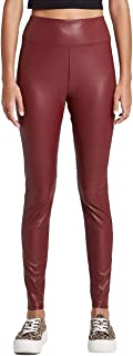 Wild Fable Women's High-Waisted Faux Leather Leggings -