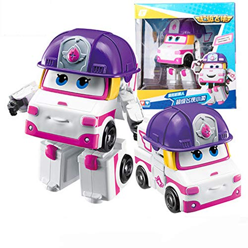 Baby Supplies HIL Super Wings Zoey Coche De Juguete Modificado Robot De Deformación Grande Transformación Transformando Transformar Un BOT Juego Mental Transformable Regalo De Cumpleaños