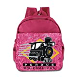 Huma Purdue The Boilermakers Kid Pre-school Knapsack Pink
