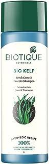 3 x Biotique Bio Kelp Protein Shampoo For Falling Hair Intensive Hair Growth Treatment (120ml)