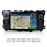 AIMTOM AMN-8590-MB 2013-2017 Nissan Altima In-dash GPS Navigation Stereo FM AM Radio Bluetooth DVD CD Deck 8' Touch Screen Head Unit AV Receiver USB SD Multimedia Player Copyrighted iGo Primo Maps