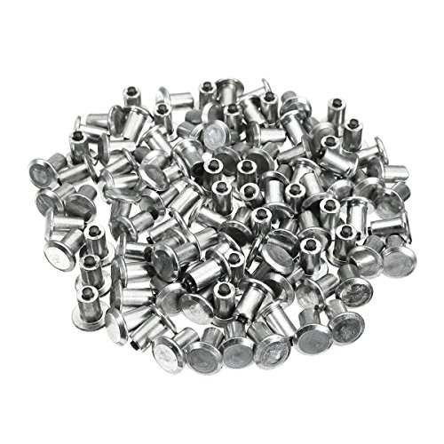 YONGYAO 100Pcs Car Tires Studs for Holes Tire Screw Snow Spikes Wheel Tyres Snow Chains Studs