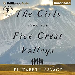 The Girls from the Five Great Valleys audiobook cover art