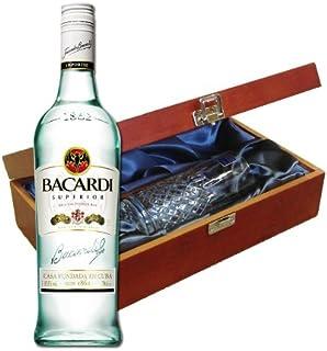 Rhum Bacardi dans Boîte De luxe avec Royal Scot en verre