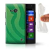 Phone Case for Nokia Lumia 735 Reptile Skin Effect Pit