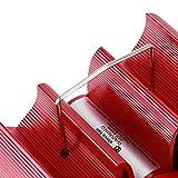 Zwinner Quemador de leña, Ventilador de Chimenea Alimentado por Calor, aleación de Aluminio sin Electricidad Ventilador de quemadores de leña 7.4x8.7x4.1in para Hotel de Cocina