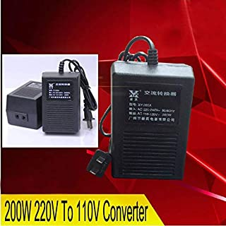 Tool Parts New XY-203A, 200W 220V TO 110V Power Converter Adapter Voltage Transformer,POWER INVERTER