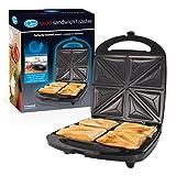 Quest 35990 Quad Sandwich Toaster | Non-Stick | Auto Temperature Control | Cool