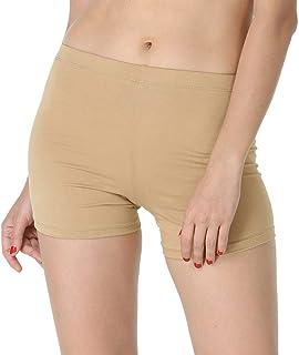 Underdress Skin Shorts/Under Dress Shorts/Under Skirt Shorts for Girls/Gym Shorts/Yoga Shorts/Cycling Shorts/Shorts for Dresses for Women