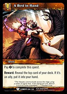 World of Warcraft TCG - A Bird in Hand (204) - War of the Elements