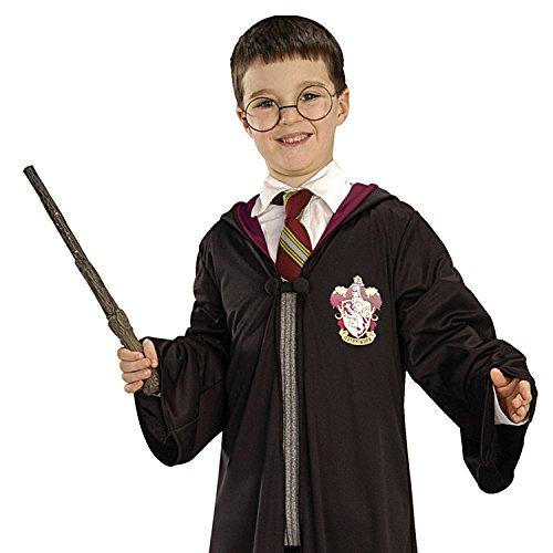 HARRY POTTER Kit d'accessoires pour déguisement avec baguette et paire de lunettes