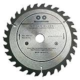 Inter-Craft Lame de scie circulaire de qualité supérieure pour bois 180 x 22,2 mm 30 dents