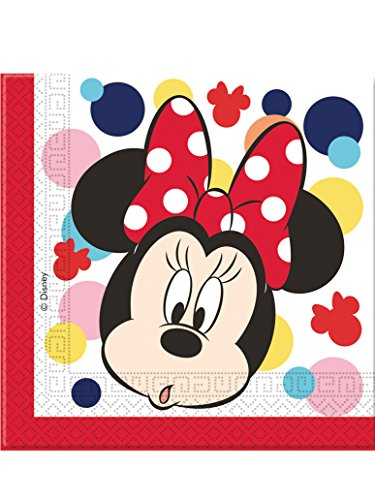 20 Servilletas de papel Minnie 33 cm