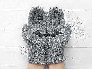 Bat Gloves, Animal Gloves, Valentine's Day Gift, Gift Idea