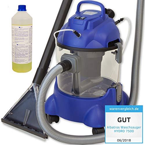 ALBATROS Waschsauger Hydro 7500 + 1 Liter Teppich/Polster Shampoo - Testurteil: GUT getestet 06/2018