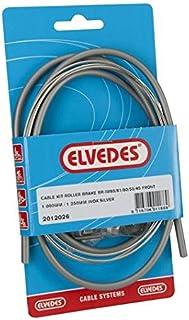 Elvedes 电缆套件鼓式制动器,适用于前-br-im85/81/55/45 - 银色